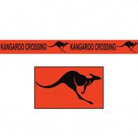 Kangaroo Crossing Party Tape