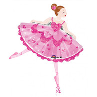 Anagram Ballerina Foil Supershape Balloon