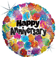 Betallic Holographic Happy Anniversary Foil
