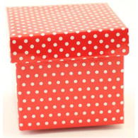 Contents Red Polka Dot Party Topiary Boxes