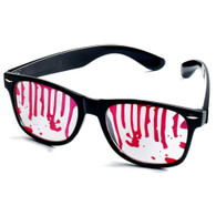 Halloween Zombie Glasses with Gruesome Dripping Blood