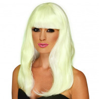 Glam 'Glow in the Dark' Party Wig | Smiffy's