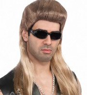 Forum Blonde 'The Enforcer' Mullet Wig