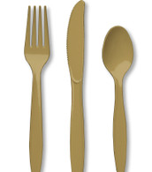 Premium Cutlery Set Glittering Gold | Touch of Color