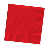 Premium Cocktail Napkins Classic Red | Touch of Color