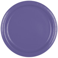 Premium Luncheon Paper Plates Purple | Touch of Color
