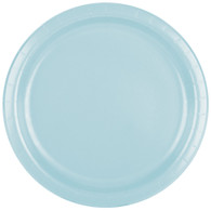 Premium Luncheon Paper Plates Pastel Blue | Touch of Color
