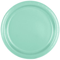 Premium Luncheon Paper Plates Fresh Mint | Touch of Color