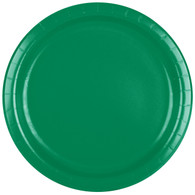 Premium Luncheon Paper Plates Emerald Green| Touch of Color