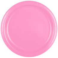 Premium Luncheon Paper Plates Candy Pink | Touch of Color