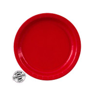 Premium Snack Paper Plates Classic Red | Touch of Color