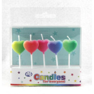 Rainbow Heart Candles | Alpen