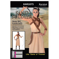 Barbarian Sand Solider Costume | Karnival Costumes