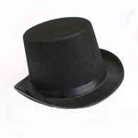 Black Feltex Top Hat | Party Time
