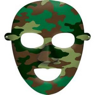Camouflage Party Paper Masks | Amscan
