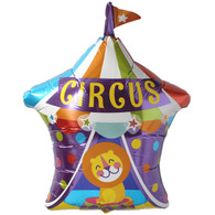 Foil Supershape Circus Tent Balloon | Qualatex