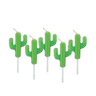 Cactus Birthday Candles | Artwrap