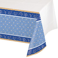 Cowboy Blue Bandana Tablecover | Creative Converting