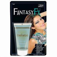 Fantasy F-X Teal Makeup   Mehron Makeup