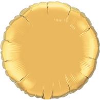 Foil Round Glittering Gold Balloon | Kalidoscoope