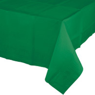 Premium Plastic Tablecover Emerald Green   Touch of Color