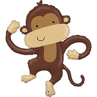 Foil Supershape Linky Monkey Balloon | Betallic