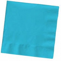 Premium Cocktail Napkins Bermuda Blue | Touch of Color