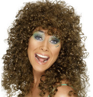 Boogie Babe 80's Brown Wig | Smiffy's