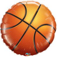 Foil Supershape Sport Basketball Balloon | Qualatex