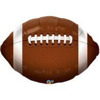 Football Sport Jumbo Round Foil Balloon | Qualatex