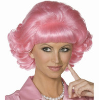 50's Frenchy Pink 'Grease 'Wig | Smiffy's