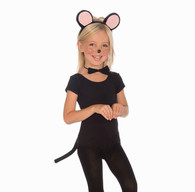 Mouse Black Child Set | Oceana