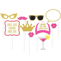 Girls Night Out Photo Booth Props | Creative Converting
