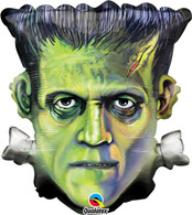 Frankenstein Halloween Foil Balloon | Qualatex