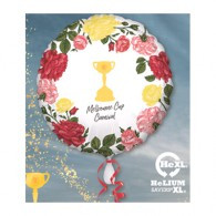 Melbourne Cup Carnival Trophy & Flowers Foil Balloon | Anagram
