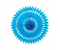 Hanging Fan Electric Blue 40cm | Five Star Party Decor