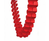 Honeycomb Garland Red 4m | Five Star Party Decor