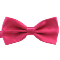 Bowtie Satin Magenta Pink | Party Planet