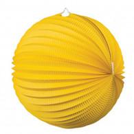 Accordion Lantern 35cm Yellow | Five Star Party Decor