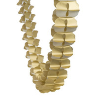 Honeycomb Garland Gold 4m | Five Star Party Deco