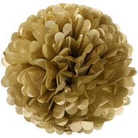Sophisticates Gold Decorative Puff | Shmick