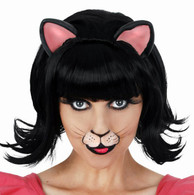 Midnight Cat Deluxe Wig | Dr Tom's