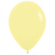 Standard Latex Balloons Pastel Yellow | Sempertex