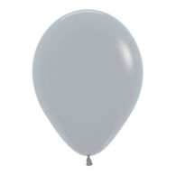 Latex Standard 30cm Grey Balloons   Sempertex