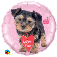Foil Studio Pets Puppy Love You Balloon | Qualatex