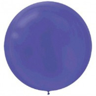 Latex Round 60cm Fashion Purple Balloon | Amscan