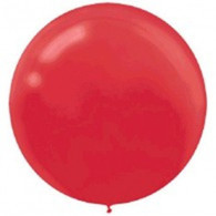 Latex Round 60cm Fashion Apple Red Balloon | Amscan