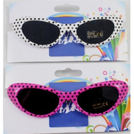 50's Style Sunglasses with Spots | Trademart