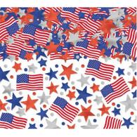 American Flag Patriotic Confetti | Amscan