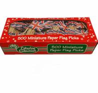 Union Jack Paper Flag Pick 500 box | Alpen